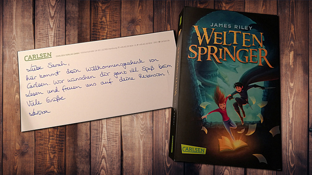 Buch Rezension: Weltenspringer von James Riley