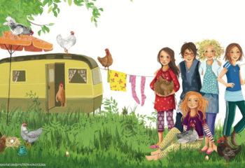 Die Wilden Hühner von Cornelia Funke | Buchrezension