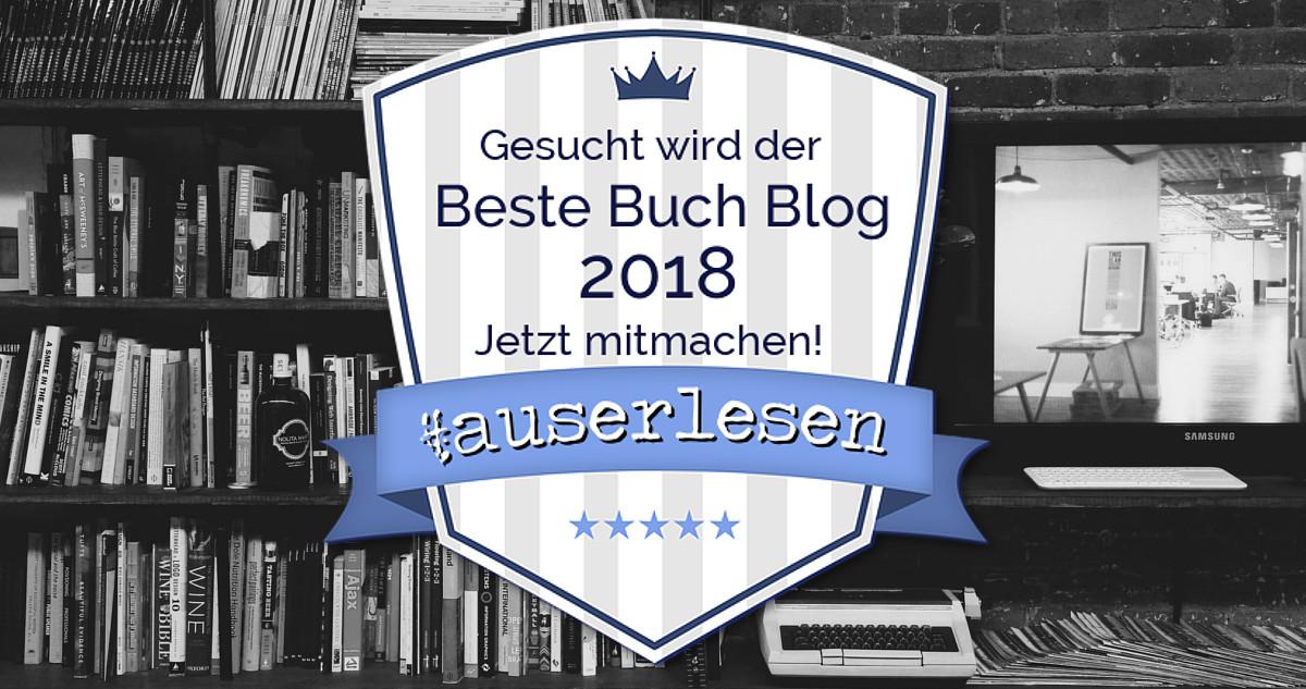 Ankündigung | Buchblog Award #auserlesen 2018