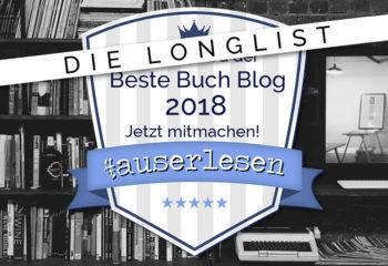 Die Longlist   Buchblog Award #auserlesen 2018