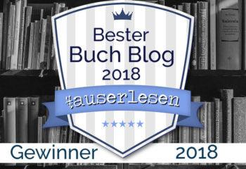 Gewinner   #auserlesen Buchblog Award 2018
