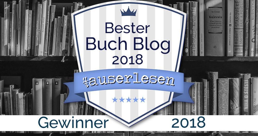 Gewinner | #auserlesen Buchblog Award 2018