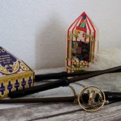 DIY: Harry Potter Zauberstäbe selber machen in nur 3 Schritten