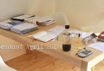 Lesemonat April 2019: Prüfungsendspurt